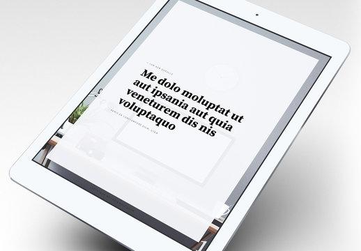 Elegantes eBook-Layout