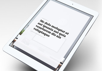 Layout eBook elegante