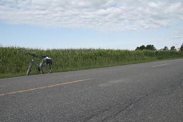 Vélo en campagne