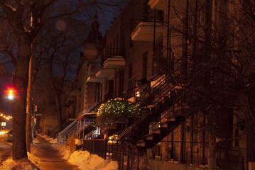 Vie de nuit en ville