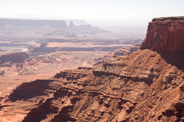Canyonlands National Park, Utah in the daytime.