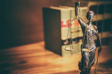 Legal law justice concept image