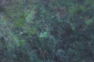 True Green Grunge - gritty rough stone effect black and green grunge background rich in different textures