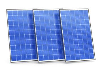 Moderne Solarpanels
