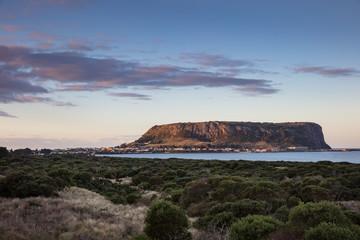 The Nut rock formation in Stanley, north west Tasmania, Australia Fototapete