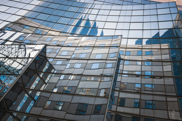 Reflections of La Defense