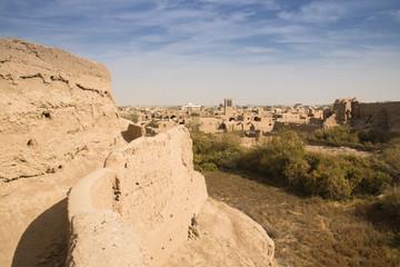 Narin castle in Meybod, Iran.