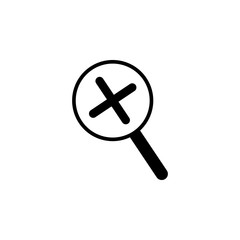 magnification icon. Element of web icons. Premium quality graphic design icon. Signs and symbols collection icon for websites, web design, mobile app