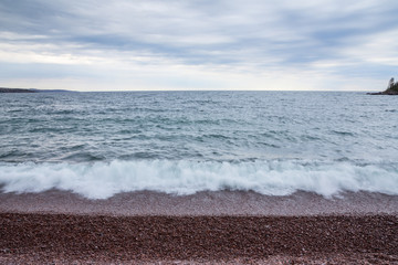Wall Mural - Lake Superior Waves