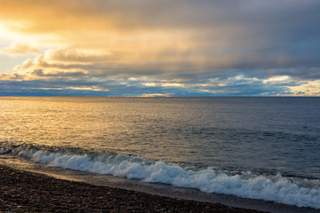Wall Mural - Lake Superior Sunrise
