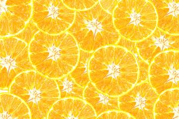 mandarin orange slice pattern