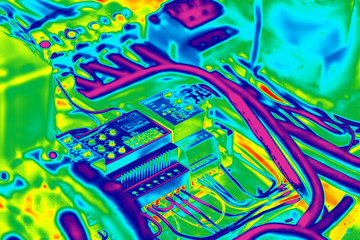 Electrical inrared thermography