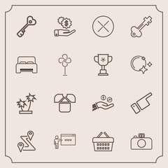 Modern, simple vector icon set with go, map, key, summer, location, web, navigation, market, white, pointing, tshirt, door, showing, nature, internet, investment, coin, vintage, hand, finger icons