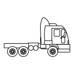 line side truck transport service vehicle