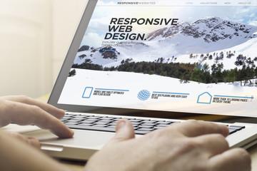home computing responsive web design