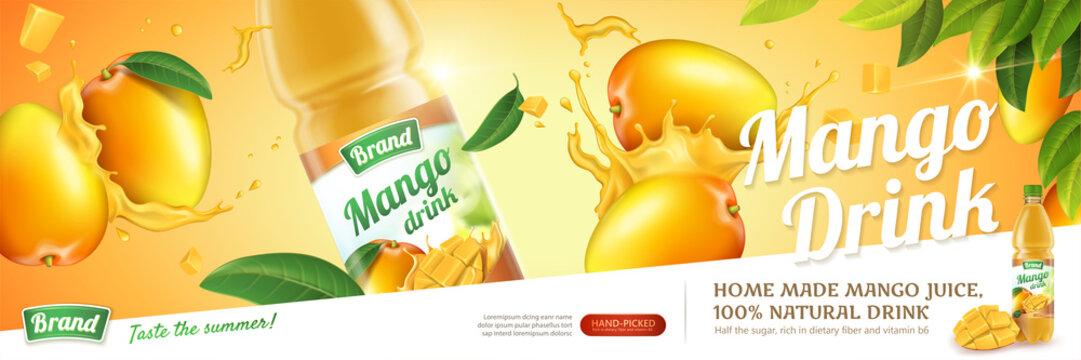 Mango juice ads
