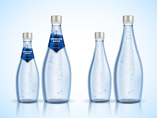 Sparkling water package design