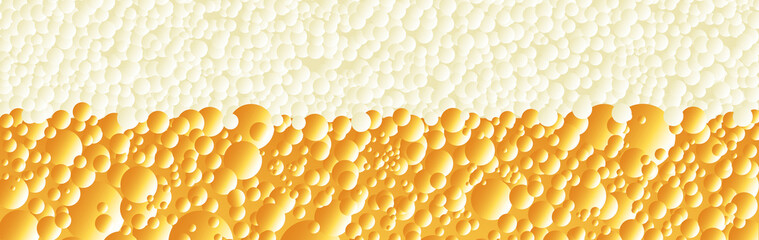 Alcoholic Beverage Froth Banner