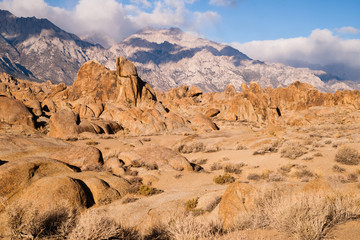 Alabama Hills just outside Lone Pine California on Movie Flat Road