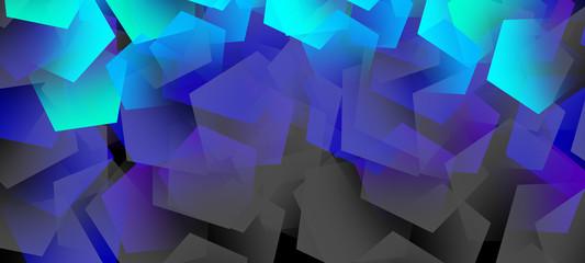 Abstract background, dark, bright elements, neon