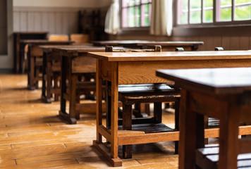 学校イメージ 木造校舎