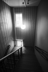 Lighted stairway