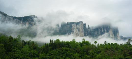Mufu Grand canyon in Enshi Hubei China