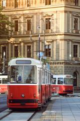 Tramway in Vienna,
