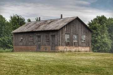 West Tuscola Road's Grey Shack