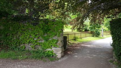 Gate on Beldn island