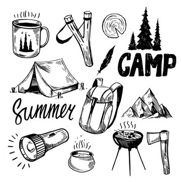 Camping and outdoor set
