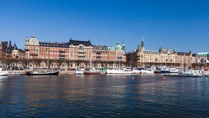 Stockholm city, Sweden. Strandvagen