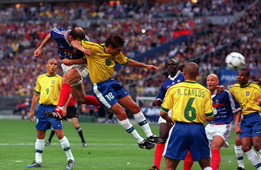 Football - 1998 FIFA World Cup - Final - France v Brazil - Stade de France, Saint Denis - 12/7/98