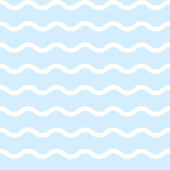vector abstract seamless pattern. Maritime, sea, ocean 03