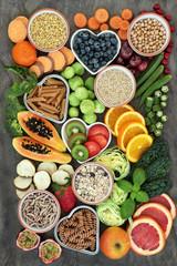 High Fiber Health Food