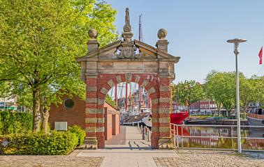 Emden - Hafen - Nordertor