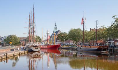 Emden - Ratsdelft - Hafen - Rathaus
