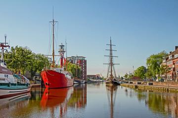 Emden - Ratsdelft - Hafen