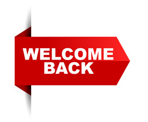 banner welcome back