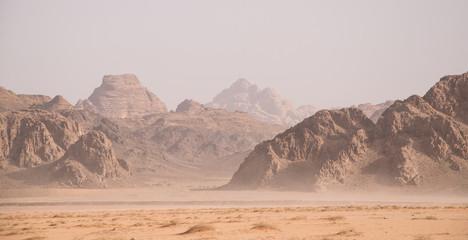 Landscape at Wadi Rum (Jordan)
