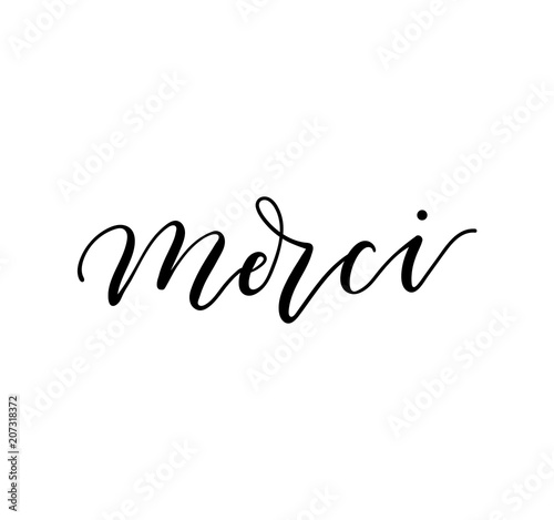 merci cherie meaning in english