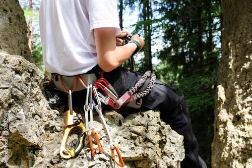 Kletterausrüstung Xxl : Set xxl sicherheitsgurt klettergurt kletterausrüstung baumpflege