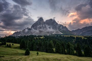 South Tyrolean landscape.