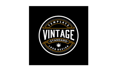 Elegant Vintage Emblem Logo design inspiration