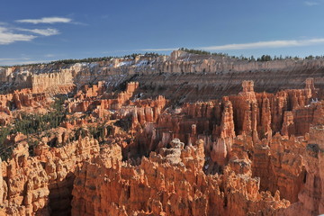 USA. Bryce Canyon on a sunny spring day