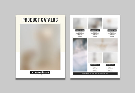 Product Catalog Sale Flyer Layout