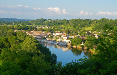 Die Dordogne im Bordelais