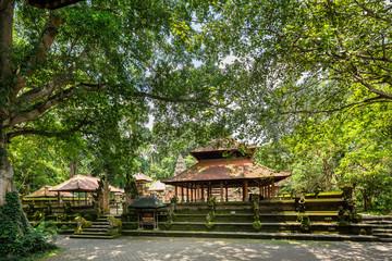 Temples at the Sacred Forest Monkey Sanctuary, Ubud, Bali