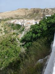 Sorbas, pueblo español de la provincia de Almería, Andalucía. (España)