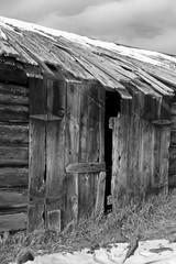 Barn Montana Winter